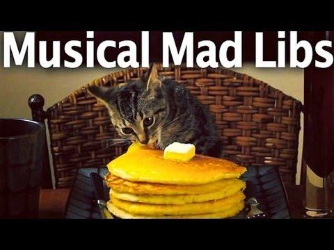 MUSICAL MAD LIBS