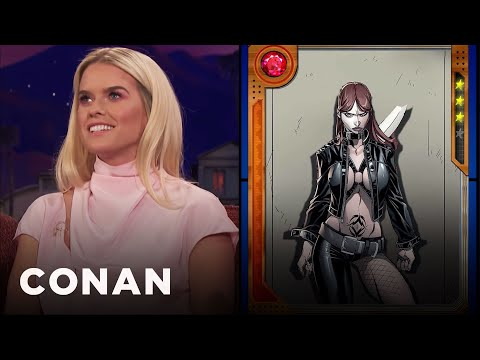 Alice Eve Wants To Explore Typhoid Mary's More Seductive Side   CONAN on TBS