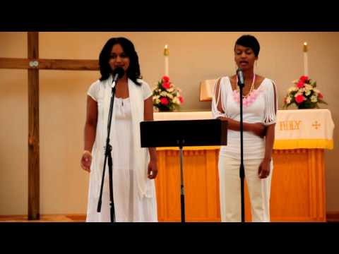 """Kirk Franklin """"Hold Me Now"""" Cover By Dawn & Shawn (part 1)"""