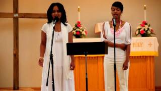 "Kirk Franklin ""Hold Me Now"" Cover by Dawn & Shawn (part 1)"