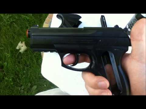 Cleaning a CO2 Airsoft pistol