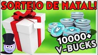Christmas Giveaway! | 10000 + V-Bucks! | Fortnite