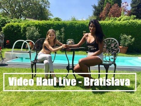 Haul Shopping Live    Vlog   Bratislava