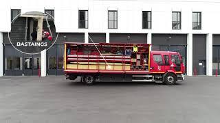 Découvrez un camion de pompiers : le Camion d'Étaiement et de Sauvetage-Déblaiement