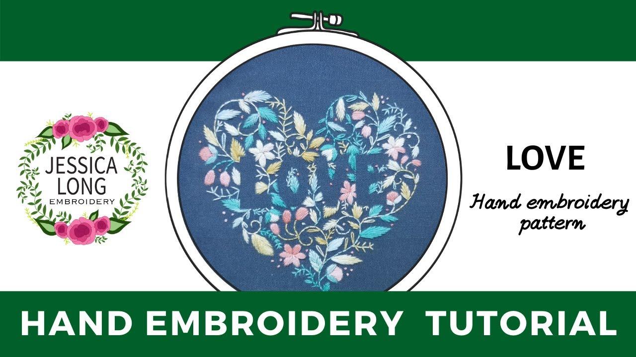 Fishbone Stitch Tutorial – Namaste Embroidery