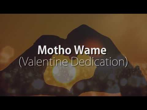 2nd Music - Motho Wame Lyric Video