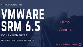 VMware Site Recovery Manager (SRM) 6.5 - Storage Array Replication Configuration - Video 4