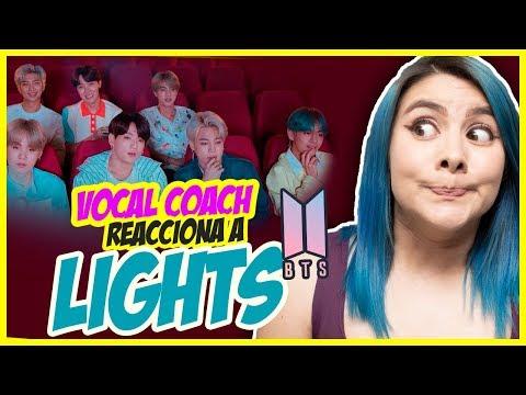 BTS – Lights | TE REGALO BOLETOS de TWICE y GOT7 | VOCAL COACH REACCIONA | Gret Rocha