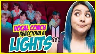 BTS - Lights | TE REGALO BOLETOS de TWICE y GOT7 | VOCAL COACH REACCIONA | Gret Rocha