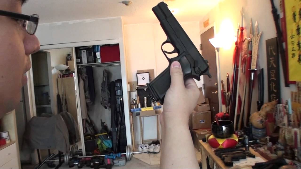 Umarex Browning Hi-Power Mark III Co2 Pistol - Shooting Power Test and  Review by MakHobby