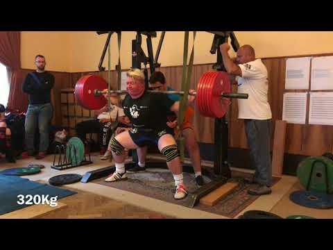 Janik Velgy Velgos -16 years, training-squat-320kg-BARDEJOV - SLOVAKIA