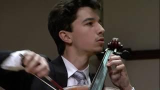 Sphinx Competition 2018 Finals, Gabriel Martins plays Schumann Cello Concerto, Mvt. 3