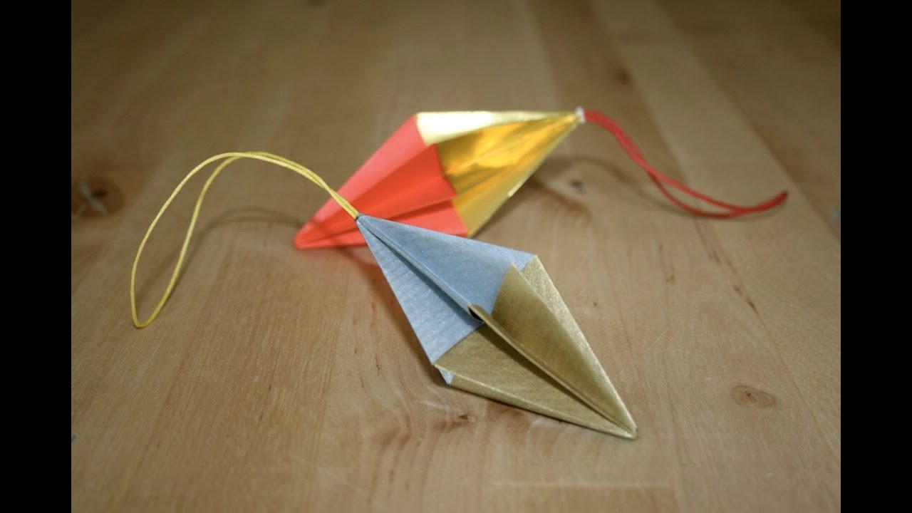 Make An Origami Christmas Tree