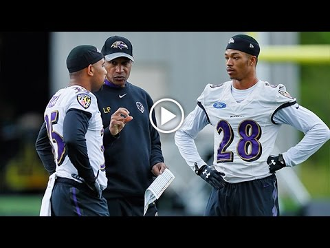 Leslie Frazier Drops Knowledge On Rookies | Wired | Baltimore Ravens