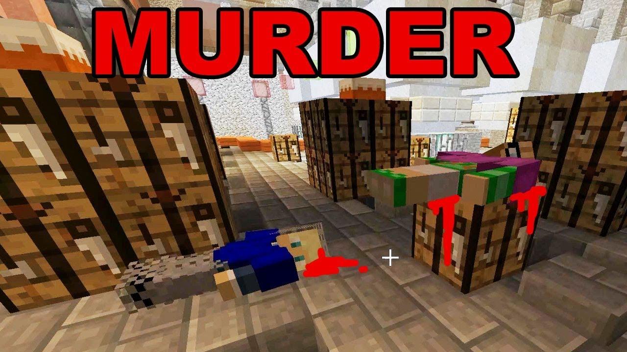 Aladm Minecraft Murder Mystery Minigame YouTube