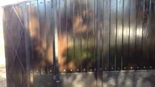 Spanish Gate, Sliding Gate, Wood Gate Burbank