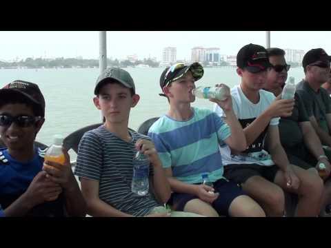 Boat ride in Kochi harbour