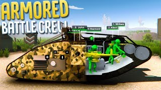 Armored Battle - Commanding & Managing WWI Tank Crew - Armored Battle Crew: WWI Gameplay