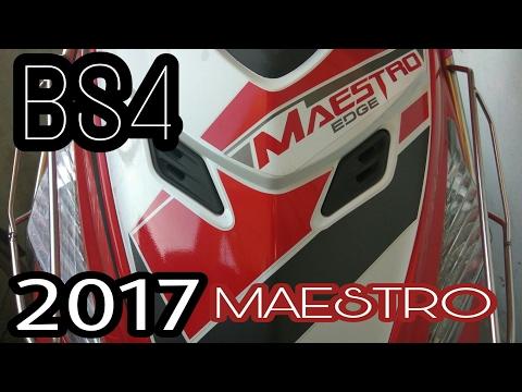 2017 Hero Maestro EDGE  BS4 ||walkaround|| ||specs||