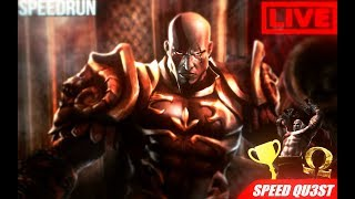 God Of War 2 Very Hard NG+ SpeedRun New WR 2:26:54