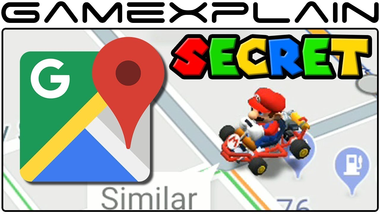 google kart no Google Maps Mario Kart Easter Egg Celebrates MAR10 Day! (iPhone  google kart no