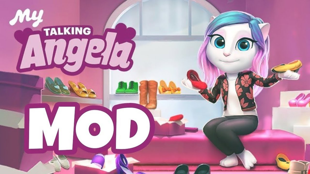 How to Download My Talking Angela MOD Apk 2018 ( Unlimited Money & Diamond)