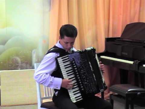 виртуоз игры на аккордеоне, Альберт Мамедов