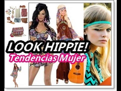 Disfraz hippie mujer tendencias moda hippie chic youtube for Disfraz de hippie