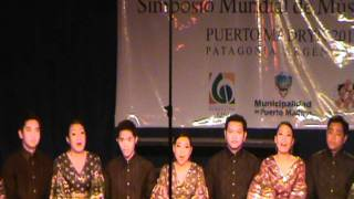 The University of Philippines Madrigal Singers -  Esto les Digo