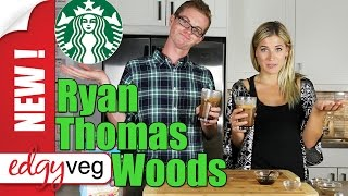 Vegan Recipe :starbucks Salted Caramel Mocha With Ryan Thomas Woods| Edgy Veg