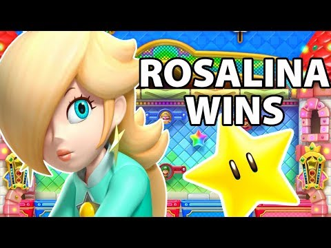 Mario Party 10 - Rosalina Wins by Doing Absolutely Nothing