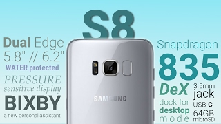 Samsung Galaxy S8 big leak confirms rumored major features