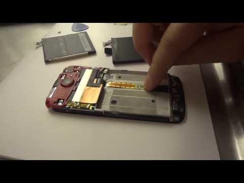 Установка батарейки от HTC One X Plus в телефон HTC One S. Replace Battery.