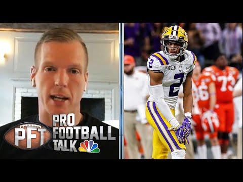 Chris Simms: Justin Jefferson Is The Better Version Of Jerry Jeudy | Pro Football Talk | NBC Sports