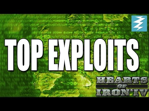 Top EXPLOITS In Hearts of Iron 4 (HOI4) |