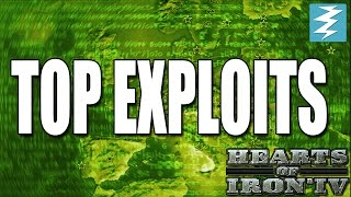 Top EXPLOITS In Hearts of Iron 4 HOI4