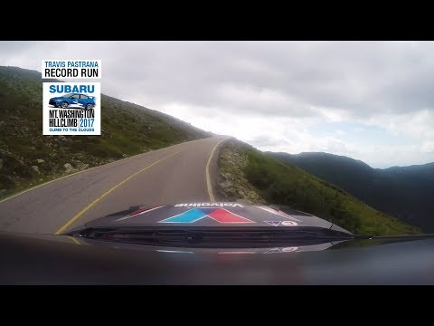 Travis Pastrana RECORD RUN POV - Mt. Washington Hillclimb 2017