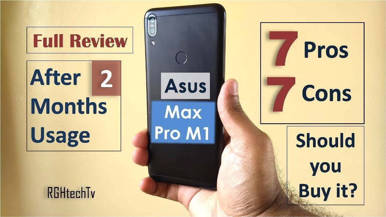 Asus Max Pro M1 Full Review After 2 Months Usage | Gaming, Camera, Battery Pros and Cons
