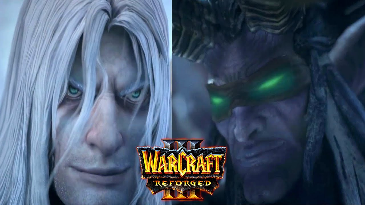 Warcraft 3 Reforged Arthas Vs Illidan Pelea Final Youtube