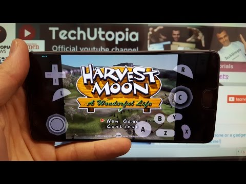Playing Harvest Moon: A Wonderful Life On Android Smartphone With Dolphin Emulator Adreno 530