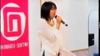 石丸電気で開催された黒川芽以さんのDVD「may be...」の発売イベントです。
