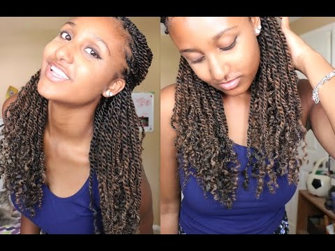 How to Wash Kinky/Senegalese Twists or Braids