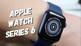 Unboxing & Setup Apple Watch Series 6 (GPS) 40mm Blue Aluminum Case with Deep Navy Sport Band -
