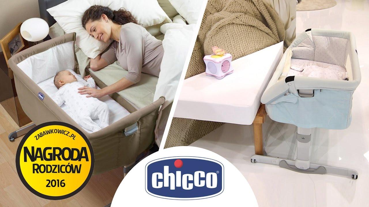 Next2me Chicco łóżeczko Dostawne Z Funkcją łóżeczka Samodzielnego I Podróżnego