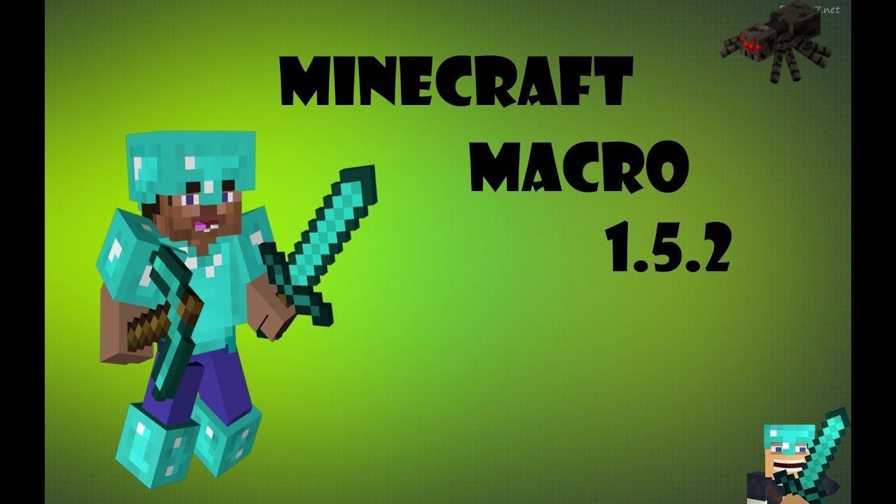 Como Baixar O Macro De PvP // Minecraft 1.5.2 !!