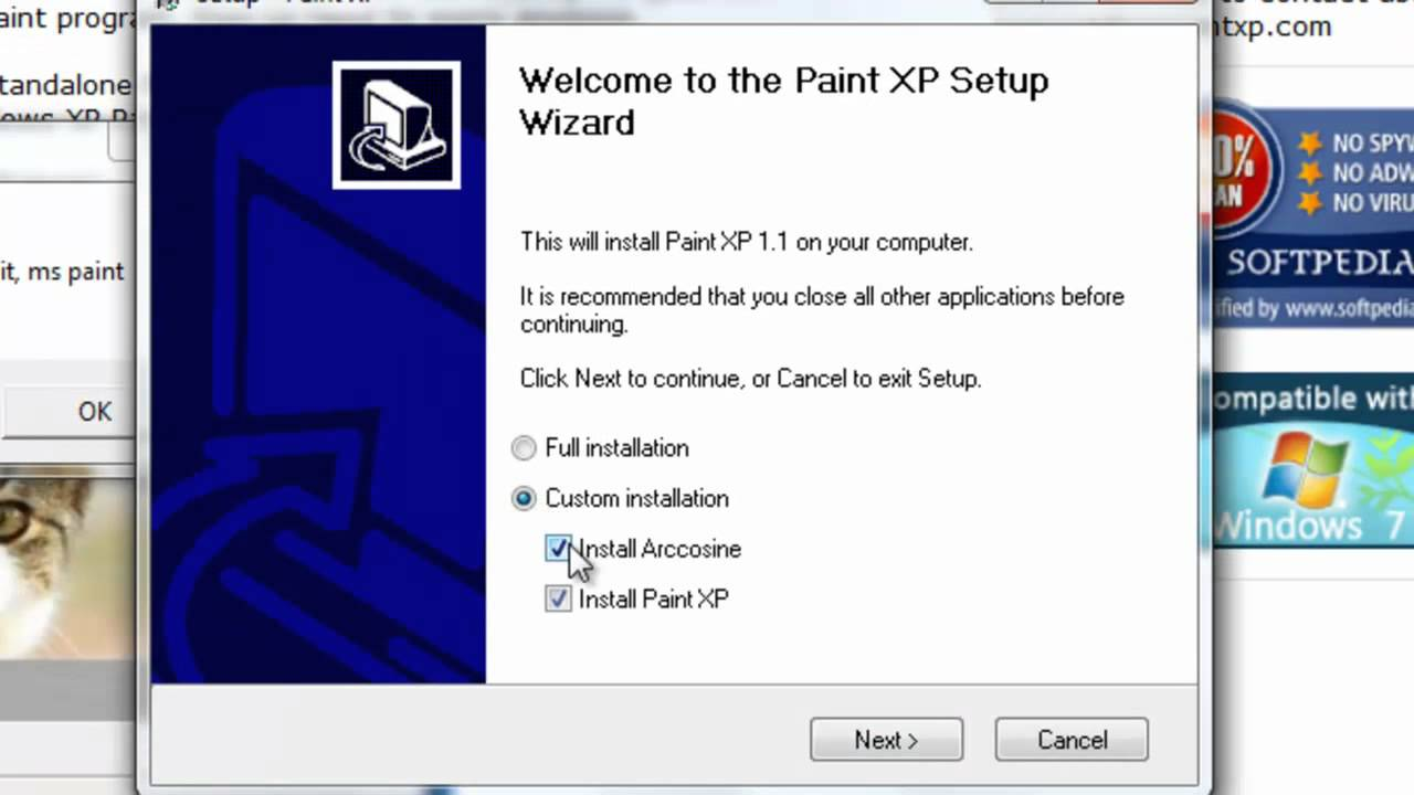 How to download Ms paint on Windows 7