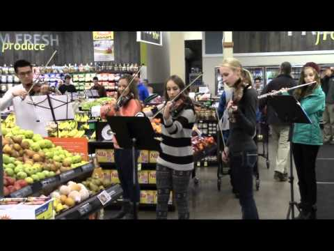 Boise Youth Philharmonic Flash Mob at 16th & State