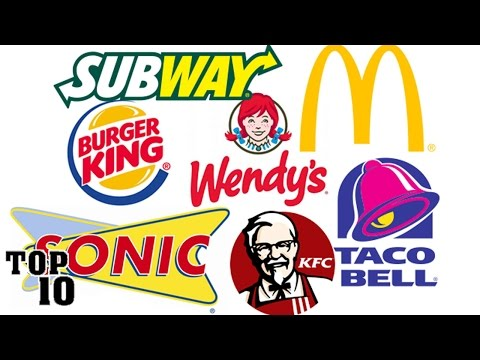 Top 10 Most Popular Fast Food Chains