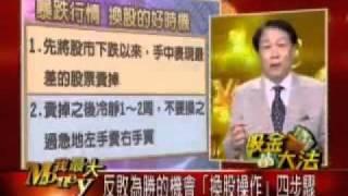 0624 吸金大法  胡立陽 股市大跌 換股操作