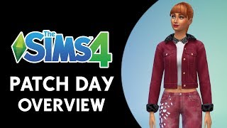 The Sims 4 Patch Day Overview! (NEW CAS AND BUILD ITEMS, TERRAIN TOOLS, AND MORE!)